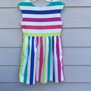 Gap candy stripe dress